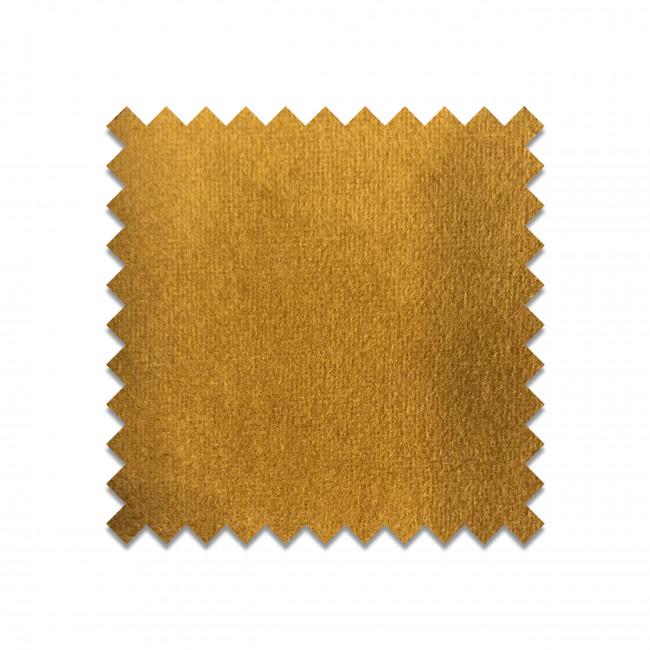 SEVEN MOUTARDE23 - Echantillon gratuit en velours jaune moutarde