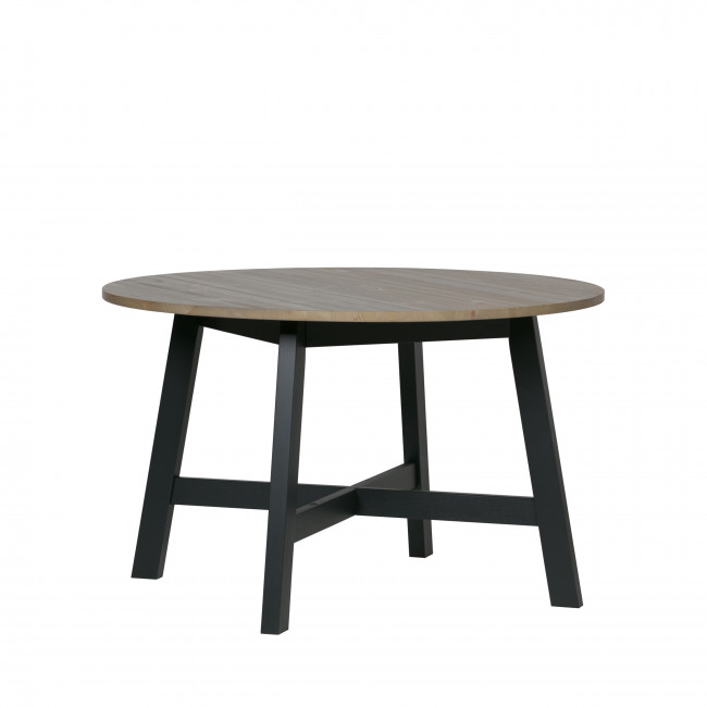 Derby - Table à manger ronde 120 x 74 cm en pin massif