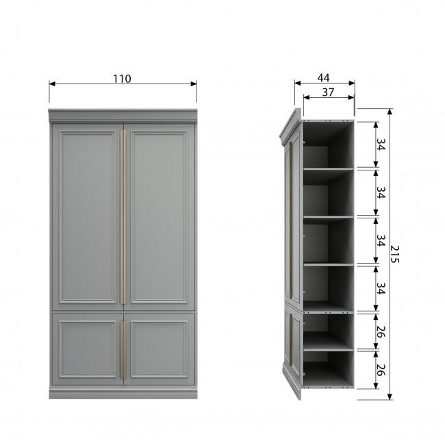 Organize - Armoire en pin 44 cm