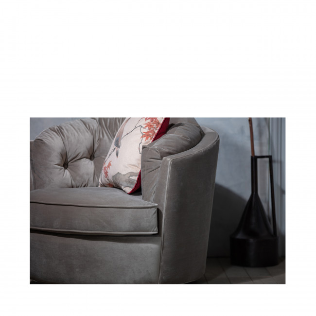 Carousel - Fauteuil en velours