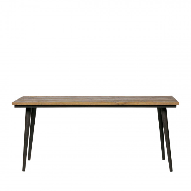 Guild - Table à manger en bois recyclé 180 x 90 cm