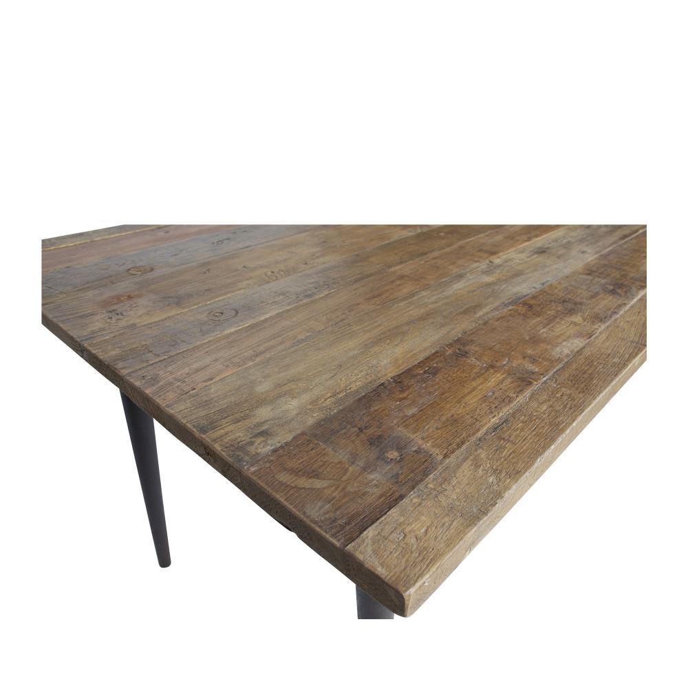 Table à manger en bois recyclé 180 x 90 cm BePureHome - GUILD