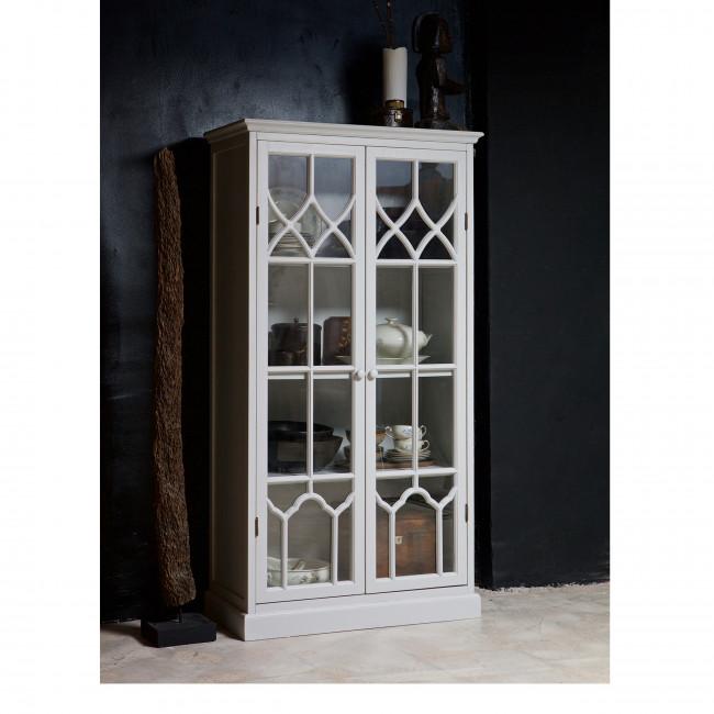 Fresco - Vitrine en bois et portes en verre