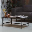 Turn Around - Table basse en bois et métal