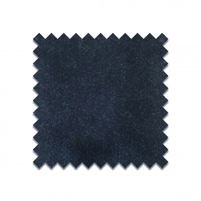 VELVET T5800/1104 - Echantillon gratuit en velours bleu foncé