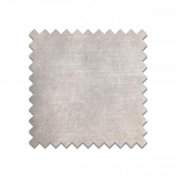 Velvet crème white - Echantillon gratuit en velours gris clair