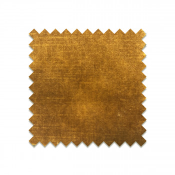 Velvet Mustard Yellow - Echantillon gratuit en velours camel