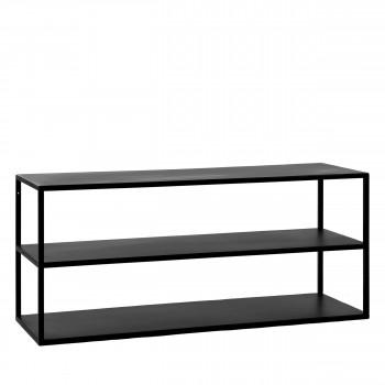 Eszential - Table basse en métal 90x30cm