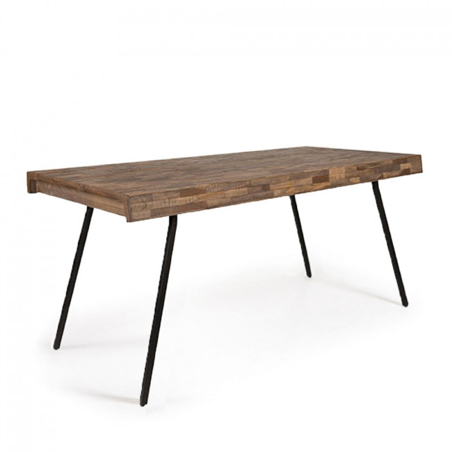 Table à manger teck recyclé 160x78 Suri de Dutchbone
