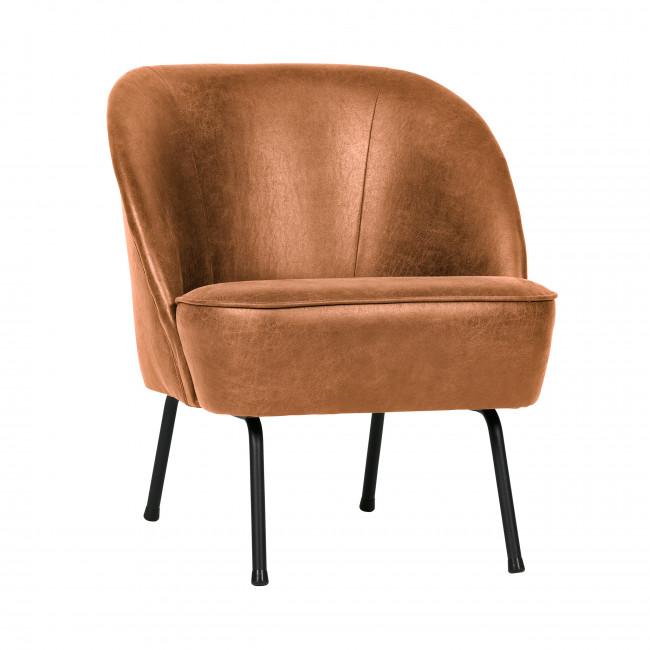 Vogue - Fauteuil lounge en similicuir