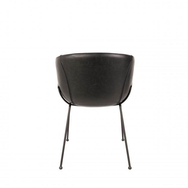 Lot de 2 chaises design Feston Zuiver