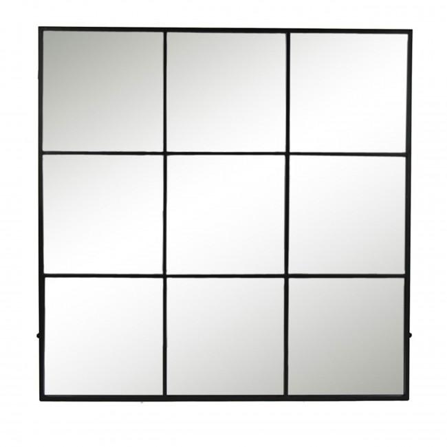 Palace - Miroir verrière en métal 118x118