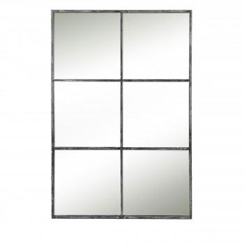 Palace - Miroir verrière en métal 118x80