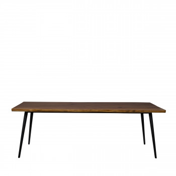 Table à manger en noyer 220x90cm Alagon Dutchbone