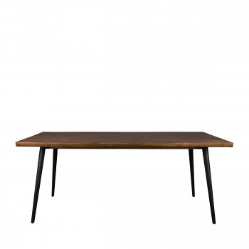 Table à manger bois massif 180cm Alagon Dutchbone