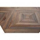 Rhombic - Table à manger en bois et métal  220x90cm