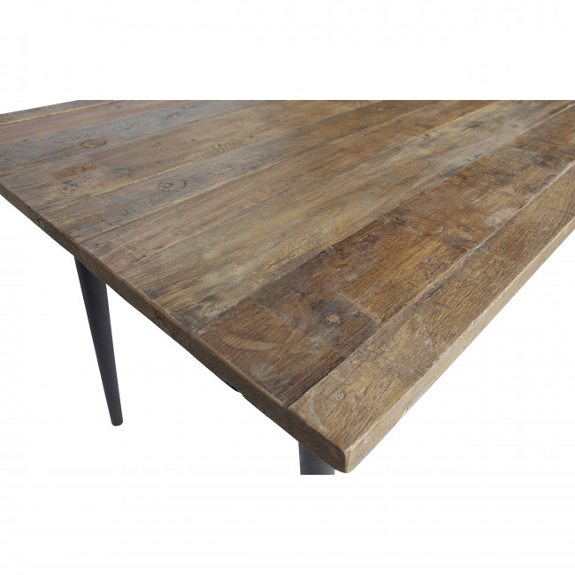 Guild - Table à manger en bois recyclé 220x90cm