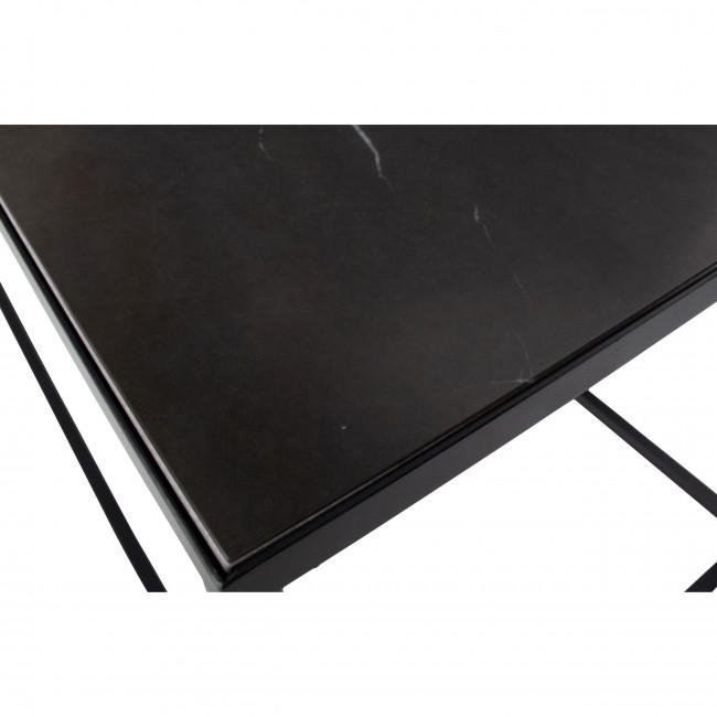Side - Table Basse effet marbre 90x45cm