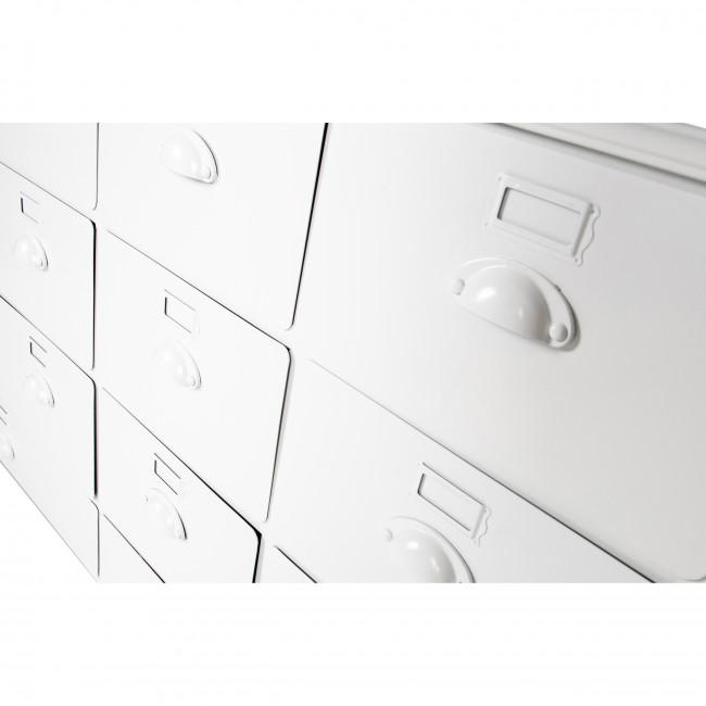 Archive - Commode en métal 14 tiroirs