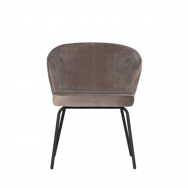 Admit - 2 chaises en velours
