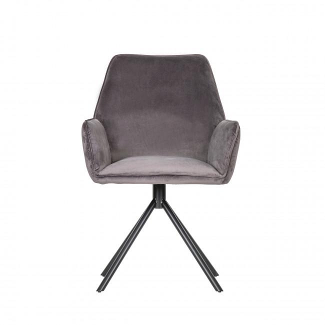 Amber - 2 chaises en velours