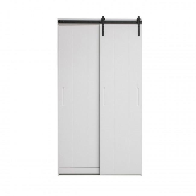 Luuk - Armoire 2 portes coulissantes en bois
