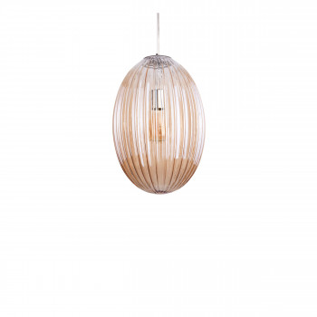 Smart Oval - Suspension en verre H44cm