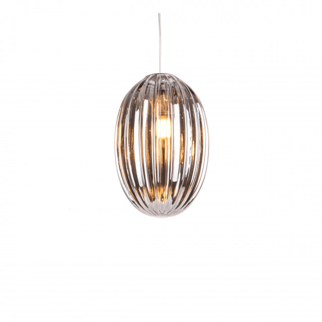 Smart Oval - Suspension en verre H30cm