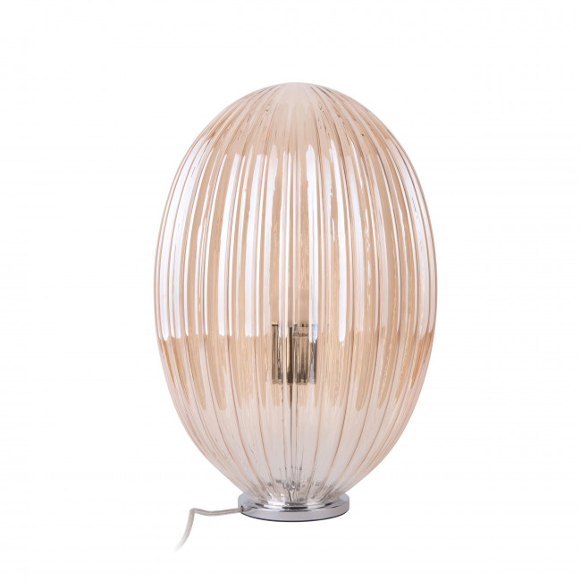 Smart Oval - Lampe à poser en verre H45cm