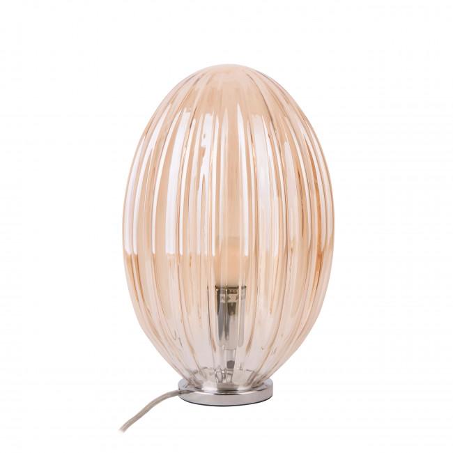 Smart Oval - Lampe à poser en verre H31cm