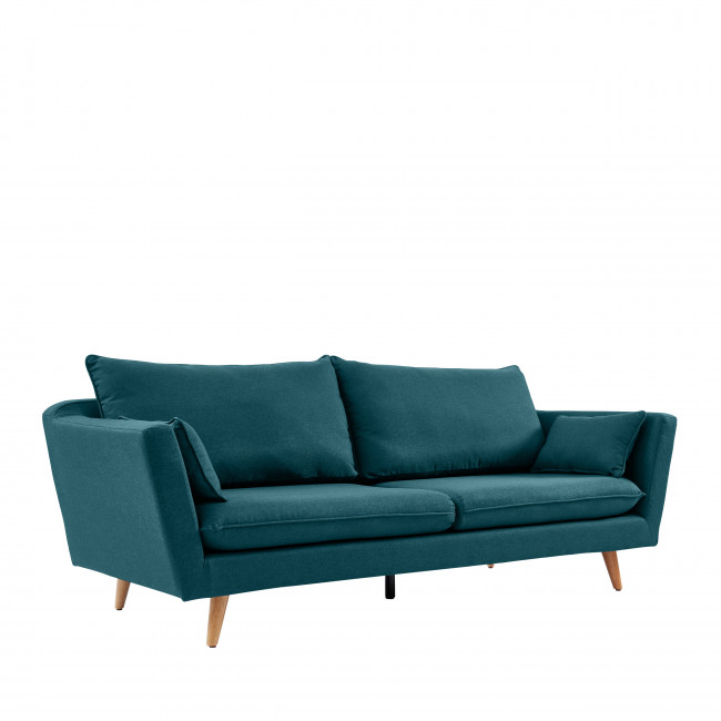 Dinevo - Canapé 3 places en tissu