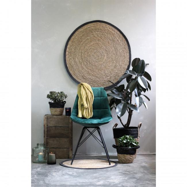 Meryl - 2 chaises capitonnées en velours
