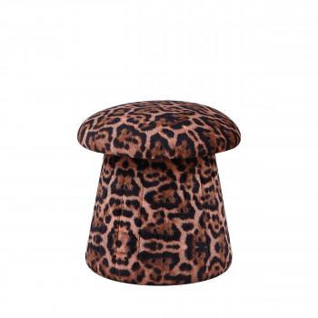 Kubaard - Pouf champignon en velours