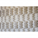 Udaipur - Coussin en coton recyclé  motifs rectangles 45x45cm