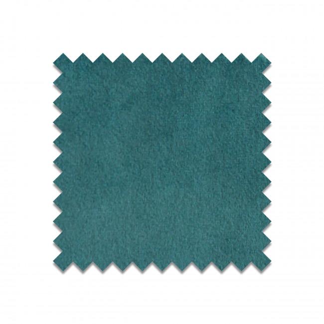 MEG BLEUCANARD26 - Echantillon gratuit en velours bleu canard