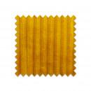GLAM - Echantillon gratuit en velours côtelé jaune curry