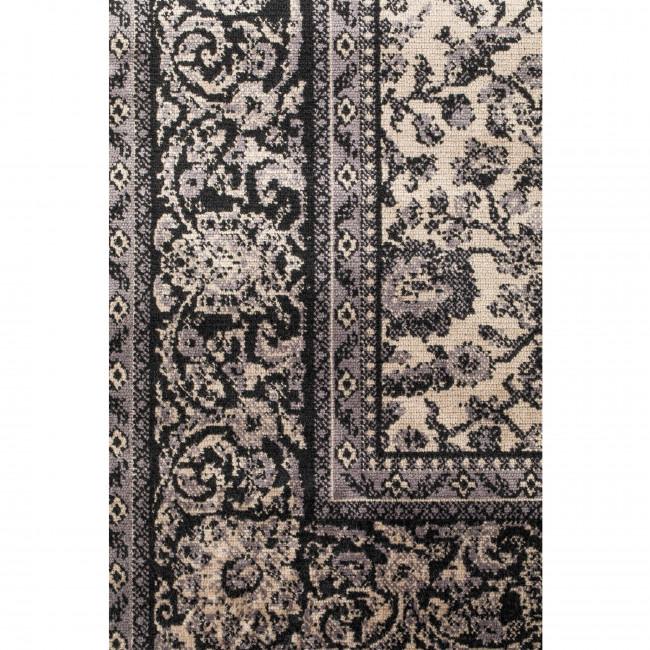 Bo - Tapis persan gris
