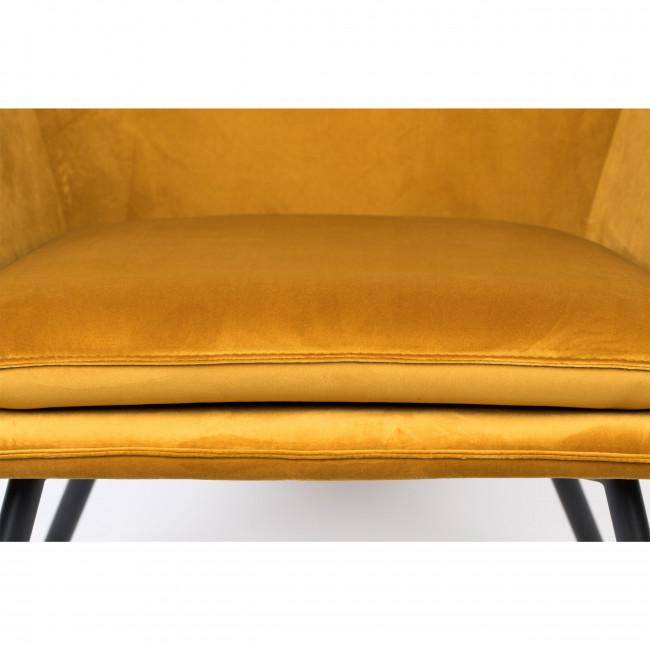 Bon - Fauteuil lounge en velours