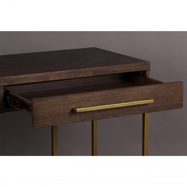 Class - Console en bois et laiton