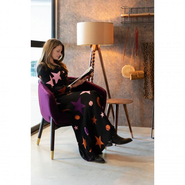 Dolly - Fauteuil vintage en velours