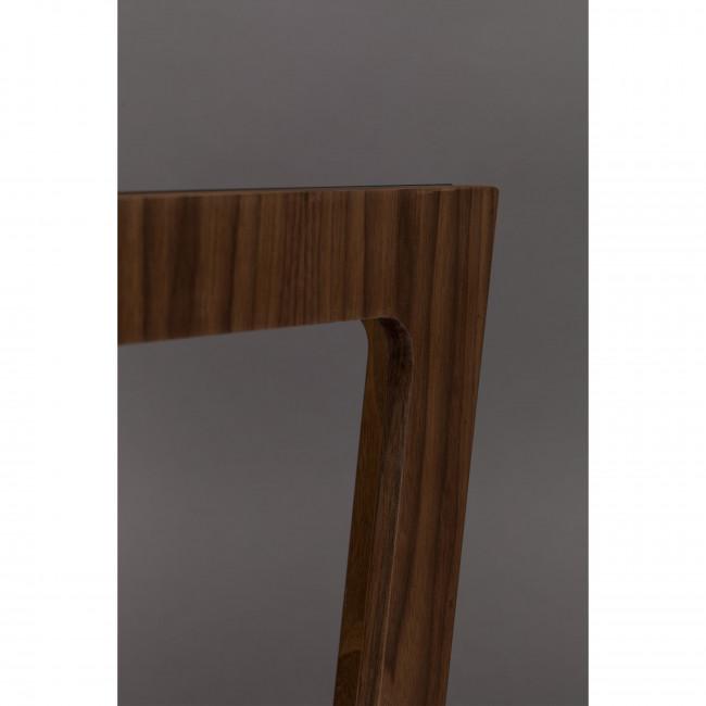 Glavo - Table d'appoint en bois et verre