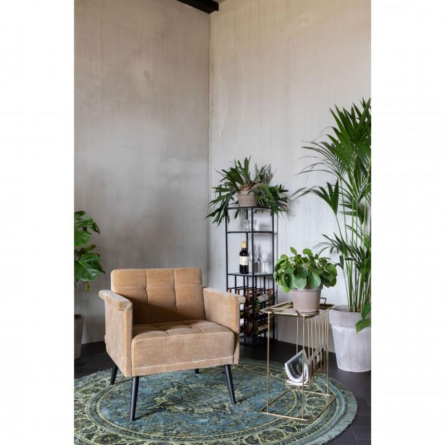 Niwas - Bout de canapé en métal