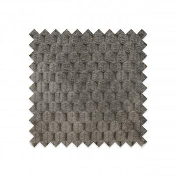 EG-D3 - Echantillon gratuit en velours structuré gris