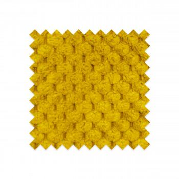 EG-B2 - Echantillon gratuit en velours nid d'abeille jaune