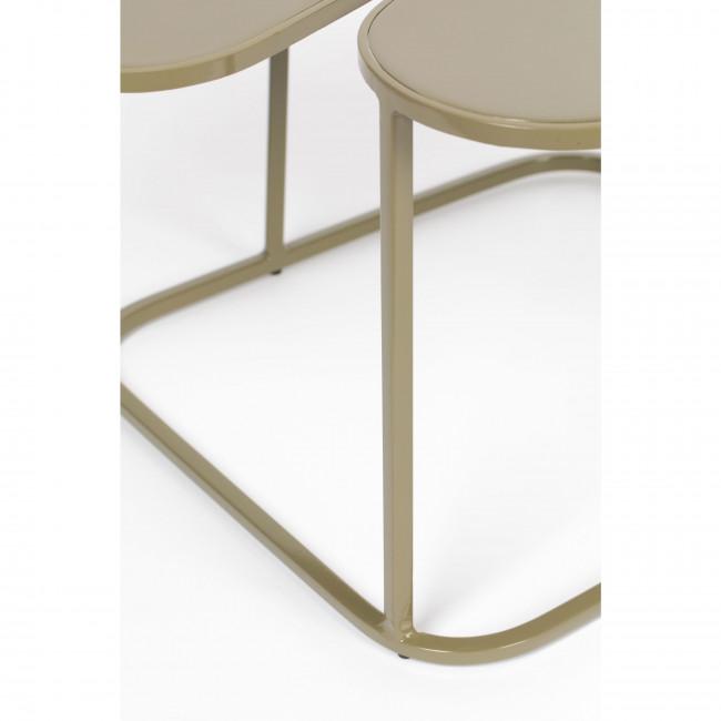 Moondrop - Table basse en métal