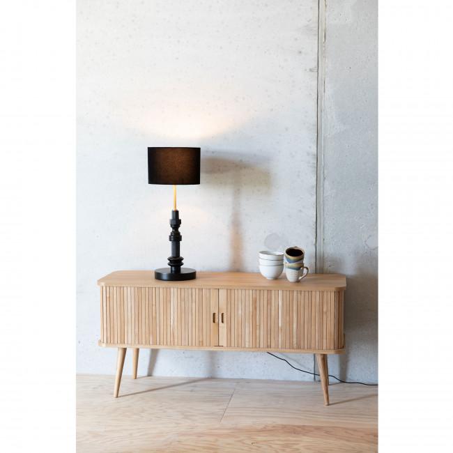 Totem - Lampe à poser en bois