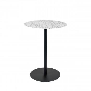 Snow - Table de bistro ronde en métal ø57cm