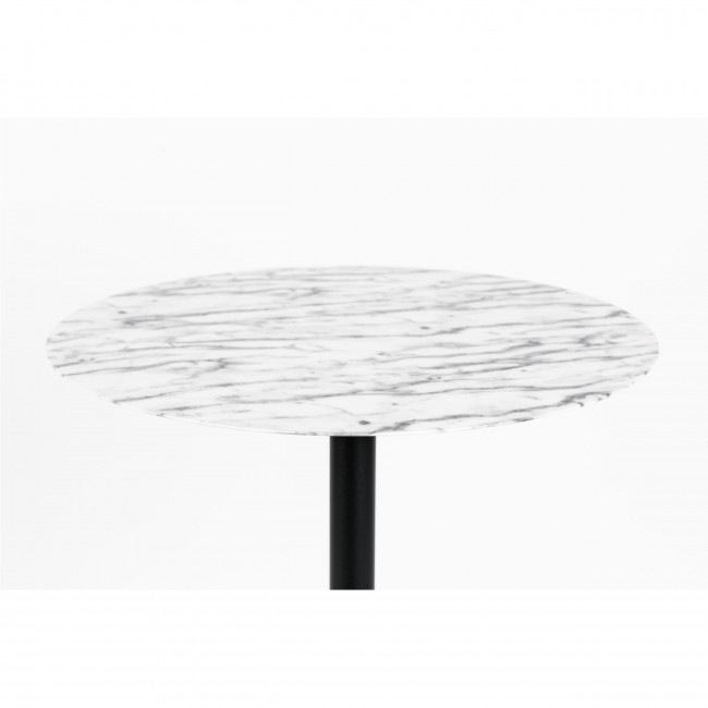 Snow - Table de bistro ronde en métal ø57cm