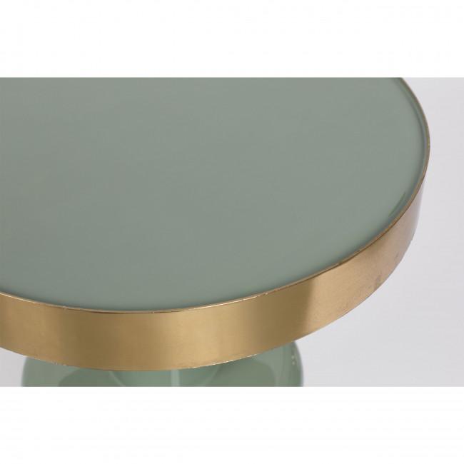 Glam - Table d'appoint ronde en métal ø36cm