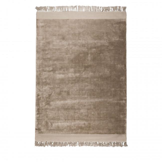 Blink - tapis à franges beige